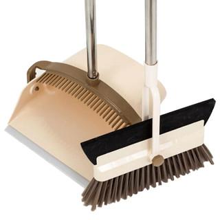 澳格菲(ORGEFY)新款多功能二合一扫把簸箕套装扫帚畚斗扫地刮水器魔术笤帚套装 *2件