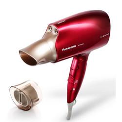 松下(Panasonic)进口铂金纳米水离子大功率速干吹风机/电吹风/风筒 EH-NA45-红色