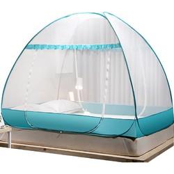 南极人免安装蒙古包蚊帐家用加厚加密1.8m床双人1.5学生宿舍1.2米