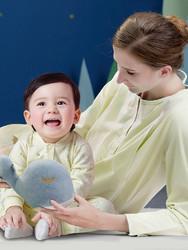 米乐鱼 新生儿连体衣0-6个月宝宝哈衣初生婴儿蝴蝶衣无痕贴肤 *3件