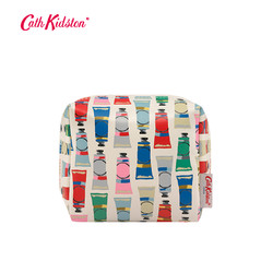 Cath Kidston2018秋款颜料管印花小号便携随身化妆包收纳包女