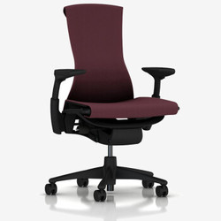 HermanMiller(赫曼米勒)Embody座椅(Rhythm织物)电脑椅 电竞椅 桑椹色(黑色框架)