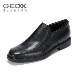 GEOX 健乐士 U0385E 商务正装鞋皮鞋男休闲低帮鞋套脚舒适透气鞋