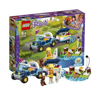 LEGO 乐高 Friends 好朋友系列 41364 斯蒂芬妮的多功能工具车 *2件