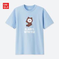男装/女装 (UT) LINE FRIENDS印花T恤(短袖) 418141 优衣库UNIQLO