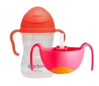 b.box 儿童重力水杯(新款)+三合一碗吸管辅食碗套装