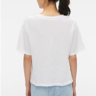 GAP 盖璞 442916 女士休闲圆领短袖T恤