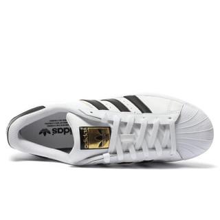adidas 阿迪达斯 C77124 三叶草 中性 休闲系列 SUPERSTAR金标贝壳头 休闲鞋 运动鞋 (41)