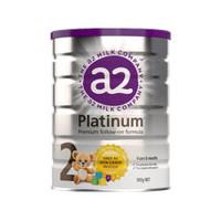 A2 白金幼儿配方奶粉 2段 6个月以上 900G * 4罐