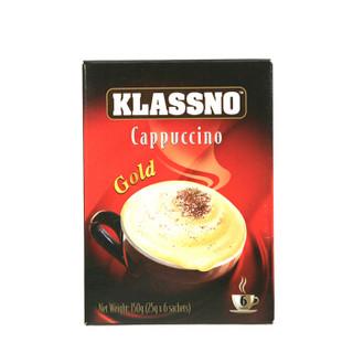 Klassno 卡司诺 即溶咖啡 (150g 、卡布奇诺、盒装、6包)