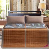百富帝(byford)镜面竹席碳化双面可用老粗布凉席子双人1.8米床用 粗布镜面席(不含枕套)