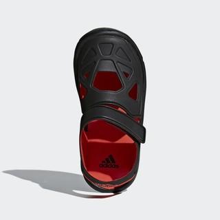 adidas 阿迪达斯 G54066 FORTASWIM 2 C 小童游泳儿童鞋G54066 (黑色、31.5、通用)