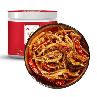 鲜佰客 熟食麻辣小海鲜 230g罐装 即食海鲜 麻辣鱿鱼须 *4件