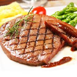 苏食 澳洲进口原切牛排10片家庭团购套餐 送黑椒酱黄油10包 *3件