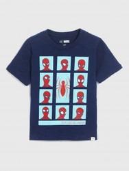 GAP/盖璞 Marvel©复仇者联盟系列 短袖圆领T恤