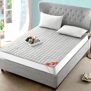 Nan ji ren 南极人 Nanjiren)床垫家纺 舒适透气床垫四季保护垫床褥子可折叠床垫子 灰色 180*200cm