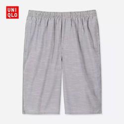 优衣库 UNIQLO 416773 男装 轻型全棉松紧短裤