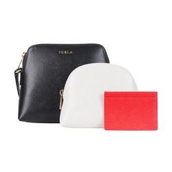 FURLA 芙拉 Boheme系列 女士斜挎包+手拿化妆包+卡包 大号 *2件