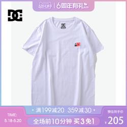 DCSHOECOUSA POCKET 运动T恤男短袖吸汗休闲半袖 ADYZT00998-WBN0