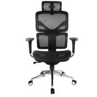 享耀家 SL-T3A 人体工学椅 网布版 幻影黑