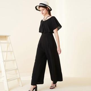 历史低价 : La Chapelle 拉夏贝尔 30092225 女士高腰连体裤
