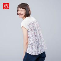 优衣库 UNIQLO 416147 女装 (UT) S Sanderson印花T恤(短袖)