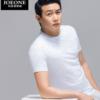 JOEONE 九牧王 JT29201FT 男士纯色T袖*2
