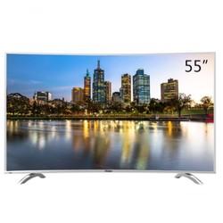 Haier 海尔 LQ55H71 55英寸4K曲面液晶电视