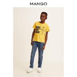 MANGO 男童领短袖T恤