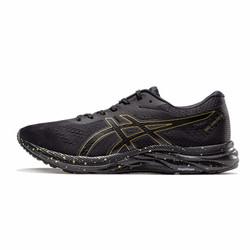 ASICS亚瑟士 缓冲跑步鞋男运动鞋19春夏GEL-EXCITE 6 1011A616-001 黑色/金色 41.5
