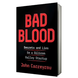 Bad Blood 坏血:硅谷独角兽的骗局 平装 英文原版 滴血成金 John Carreyrou 比尔盖茨推荐 Elizabeth Holmes