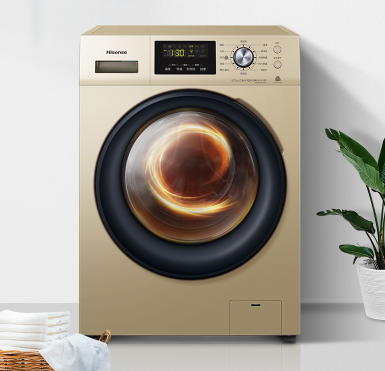 Hisense 海信 HG80DAA142FG 变频 全自动洗衣机 8KG