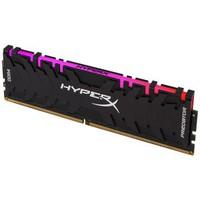 Kingston 金士顿 HyperX 骇客神条 Predator 掠食者 8GB DDR4 4000 RGB台式机内存条