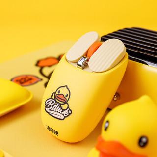 LOFREE 洛斐 MAUS 薯片蓝牙鼠标 (无线笔记本 台式电脑家用 办公鼠标) 小黄鸭鼠标