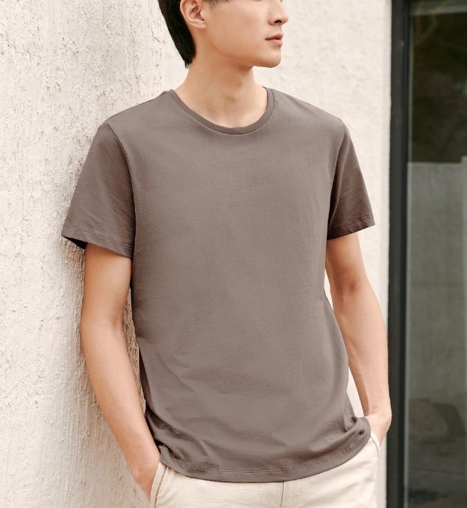 HLA 海澜之家 HUAAJ1R005A 男士短袖T恤