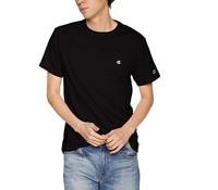 Champion  C3-P300 男士小C刺绣纯棉短袖T恤