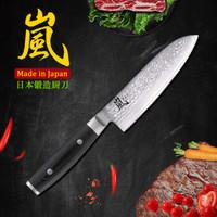YAXELL 岚 69层大马士革厨刀 日本进口 三德刀主妇刀