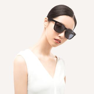 小米米家经典方框太阳镜新款男女时尚眼镜墨镜开车司机偏光眼镜 灰色