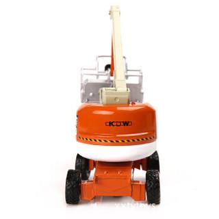 Cadeve 凯迪威 608378 合金汽车模型 仿真城市环卫垃圾 高空作业车