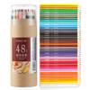 Comix 齐心 MP2019 顺滑芯彩色铅笔 48色纸桶装 *5件 54元(合10.8元/件)