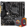 ASUS 华硕 TUF B450M-PLUS GAMING 主板 AMD 2600 处理器 板U套装 1589元包邮