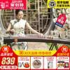 仙声古筝 初学者教学专业演奏入门扬州古筝琴 梧桐木十级考级乐器 839元