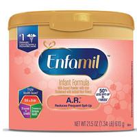 Enfamil 美赞臣 A.R. 婴儿防吐配方奶粉 1段 610g