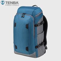 TENBA 天霸  636-412 摄影包双肩 微单单反专业双肩相机包休闲 (蓝色、12L)