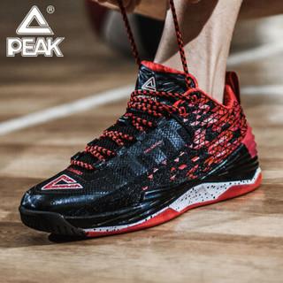 PEAK 匹克 霍华德一代 匹克篮球鞋男鞋 秋冬新品运动球鞋男 外场耐磨防滑篮球实战战靴 黑色/大红 42