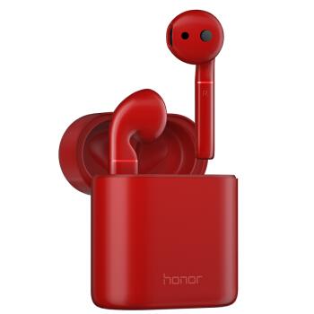 HONOR 荣耀  FlyPods 真无线蓝牙耳机 标准版 (魅丽红 、通用、耳挂式)