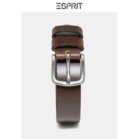 ESPRIT EDC男装秋新款复古方头针扣式牛皮革皮带男士-088CA2S002