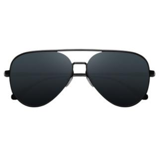 VEESA 小米米家飞行员太阳镜男女偏光墨镜男女潮流眼镜驾驶司机蛤蟆镜 灰色