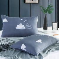 九洲鹿 安睡枕头 (雨季、单人、45*70cm、单只装、纤维枕)