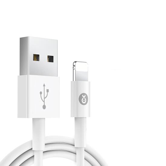 Biaze 毕亚兹 数据线 (苹果Lightning、1.2M、白色)